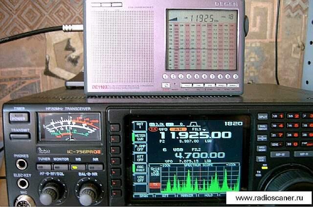 Degen 1103 построен по супергетеродинной схеме с. приема SSB и CW позволяют...